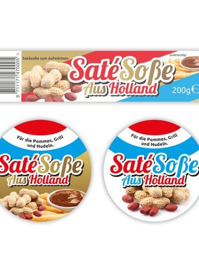 SatéSoße aus Holland